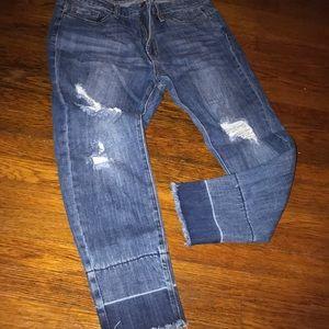 Denim - Denim distressed forever 21  jeans